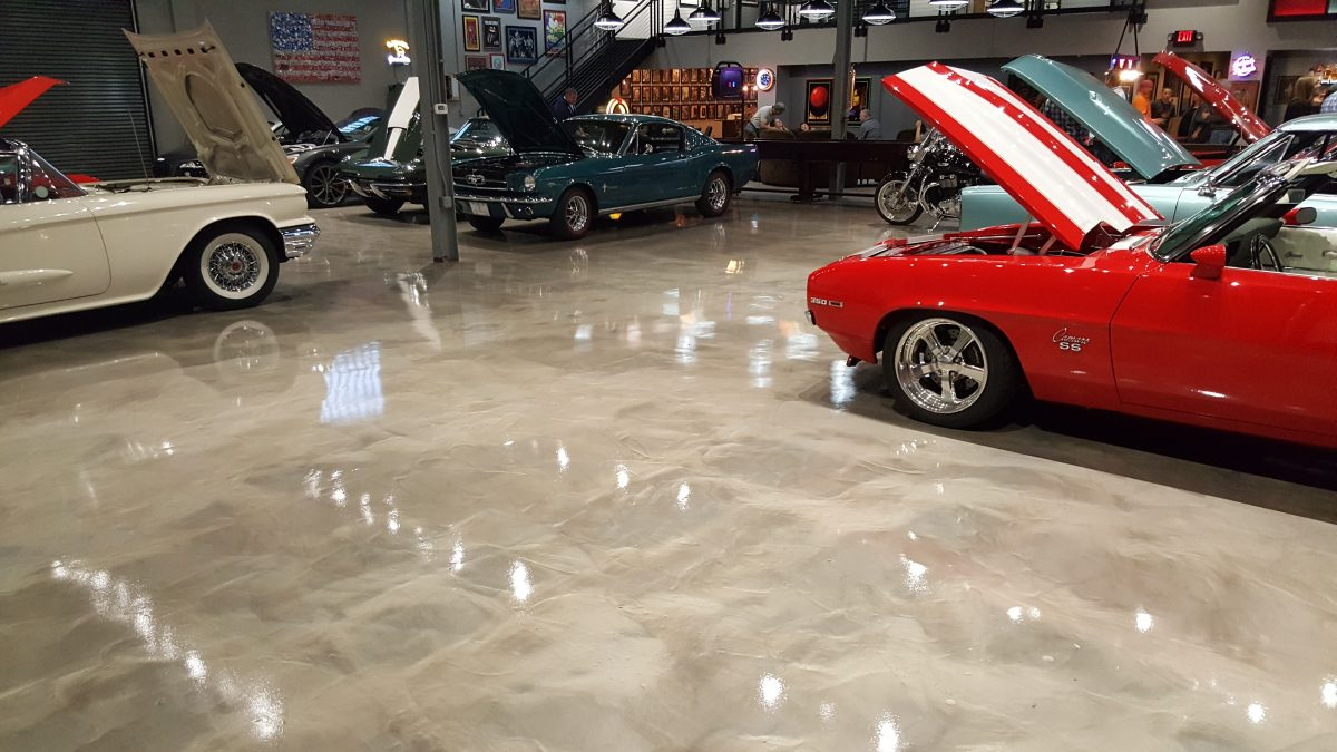 Epoxy Flooring San Luis Obispo, California
