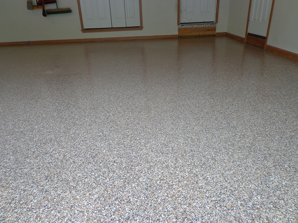 Epoxy Flake Floor | Santa Maria, California