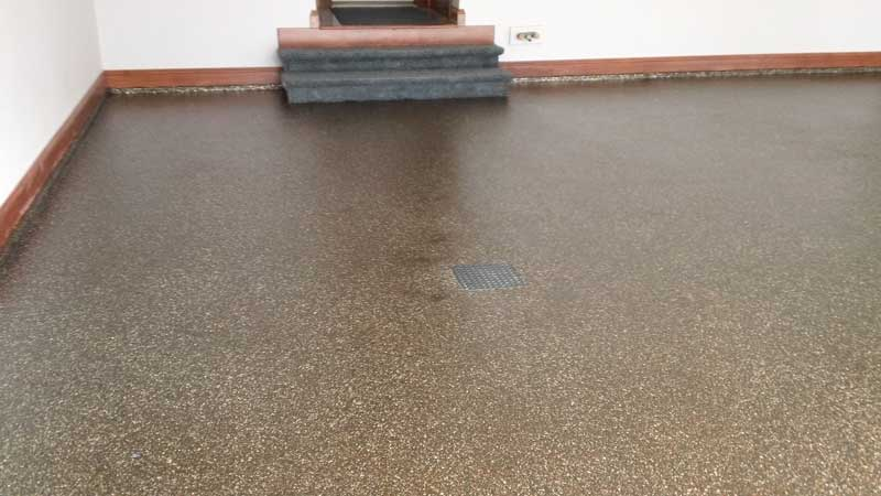 Epoxy Flake Floor | San Luis Obispo, California
