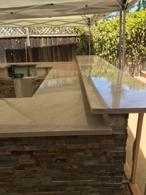 Decorative Concrete Countertop | Nipomo, California