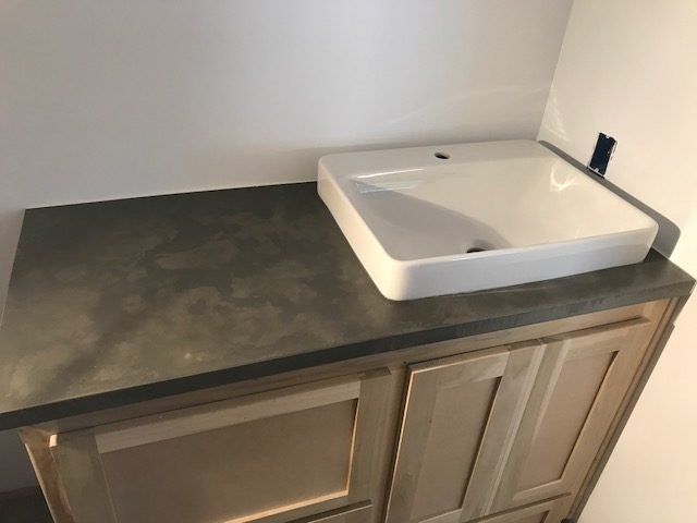 Decorative Concrete Countertop | Creston, California