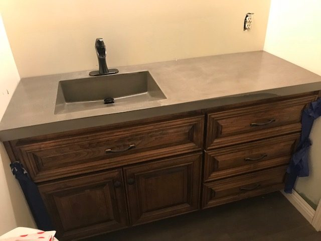 Decorative Concrete Countertop | Orcutt, California